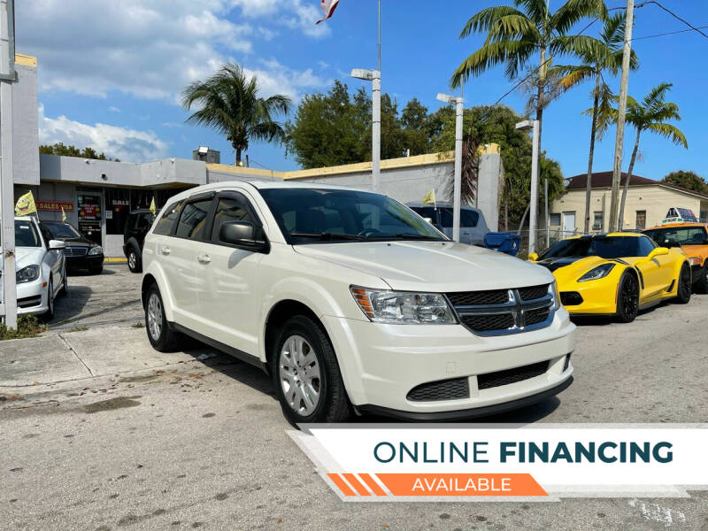 2014 Dodge Journey for sale at Global Auto Sales USA in Miami FL