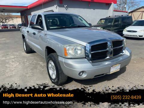 2007 Dodge Dakota for sale at High Desert Auto Wholesale in Albuquerque NM