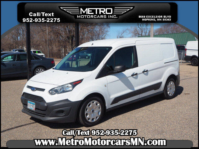 2016 Ford Transit Connect Cargo for sale at Metro Motorcars Inc in Hopkins MN