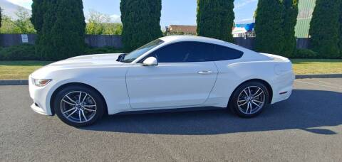 2017 Ford Mustang for sale at AUTOTRACK INC in Mount Vernon WA