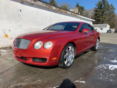 2005 Bentley Continental for sale at Velocity Motors in Newton MA