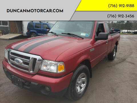 2008 Ford Ranger for sale at DuncanMotorcar.com in Buffalo NY
