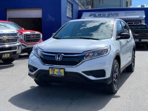 2016 Honda CR-V for sale at AGM AUTO SALES in Malden MA