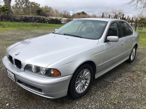 2003 BMW 5 Series for sale at Quintero's Auto Sales in Vacaville CA
