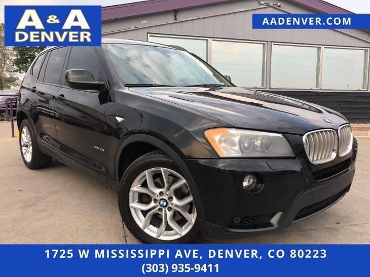 2011 BMW X3 for sale at A & A AUTO LLC in Denver CO