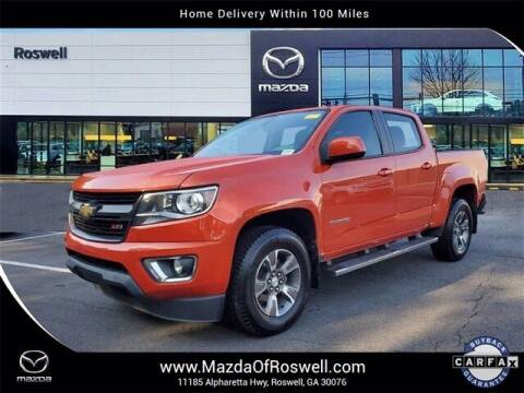 2016 Chevrolet Colorado for sale at Mazda Of Roswell in Roswell GA