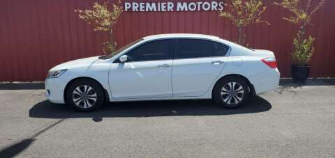 2014 Honda Accord for sale at PREMIERMOTORS  INC. in Milton Freewater OR