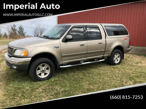 2002 Ford F-150 for sale at Imperial Auto of Marshall in Marshall MO