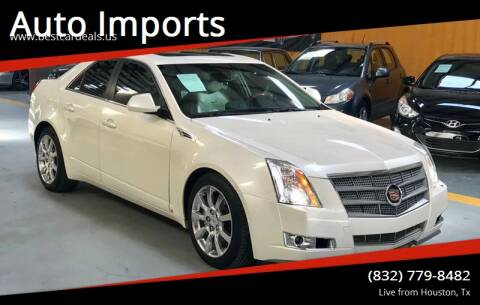 2008 Cadillac CTS for sale at Auto Imports in Houston TX