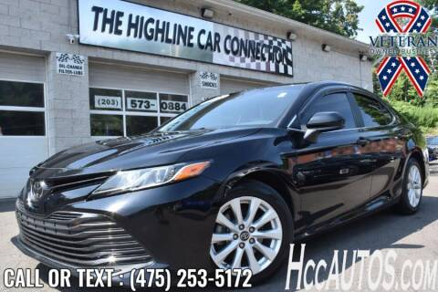 2018 Toyota Camry for sale at The Highline Car Connection in Waterbury CT