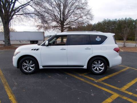 2011 Infiniti QX56 for sale at A & P Automotive in Montgomery AL