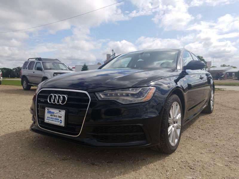 2014 Audi A6 for sale at Allen Auto & Tire in Britt IA