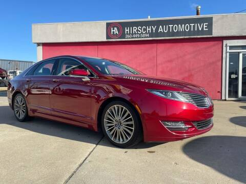 2014 Lincoln MKZ for sale at Hirschy Automotive in Fort Wayne IN