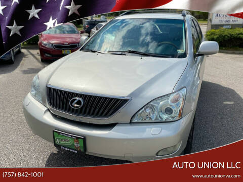 2004 Lexus RX 330 for sale at Auto Union LLC in Virginia Beach VA