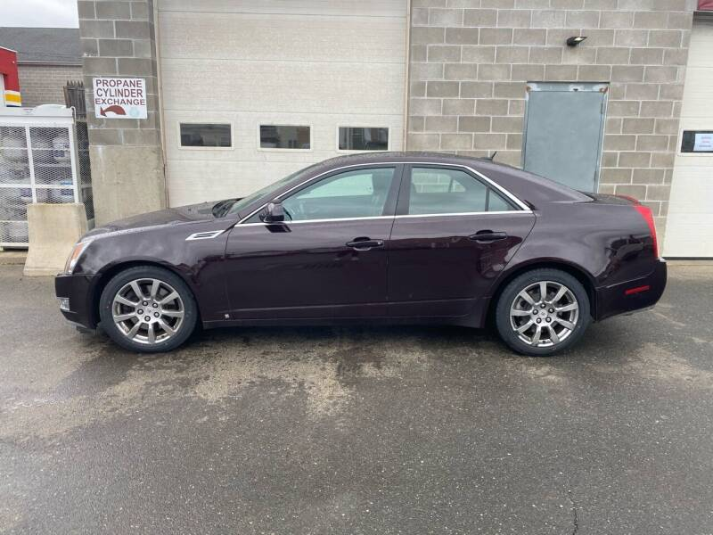 2008 Cadillac CTS for sale at Pafumi Auto Sales in Indian Orchard MA