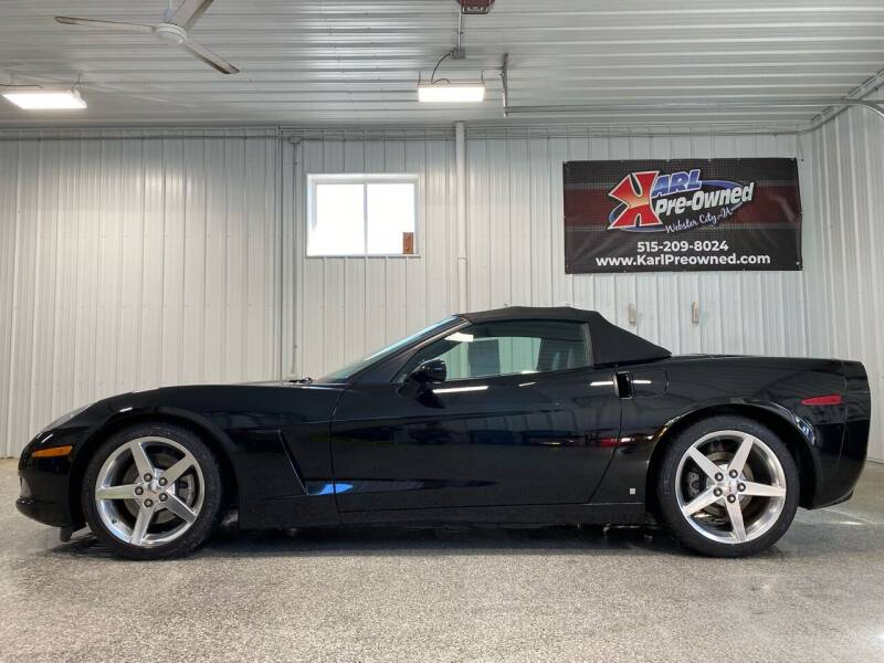 2008 Chevrolet Corvette for sale at Karl Pre-Owned - Webster City in Webster City IA