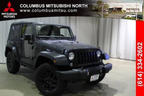2018 Jeep Wrangler JK for sale at Auto Center of Columbus - Columbus Mitsubishi North in Columbus OH