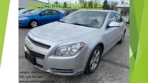 2010 Chevrolet Malibu for sale at RABI AUTO SALES LLC in Garden City ID