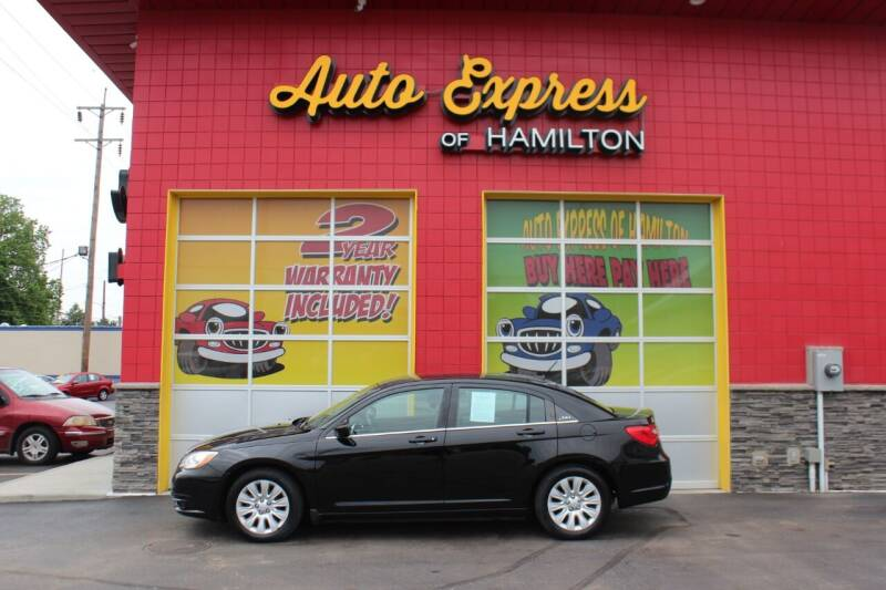 2012 Chrysler 200 for sale at AUTO EXPRESS OF HAMILTON LLC in Hamilton OH