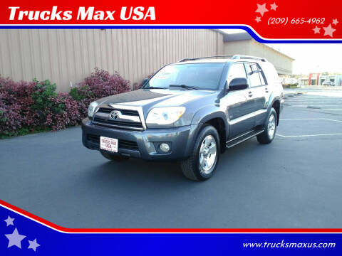 2006 Toyota 4Runner for sale at Trucks Max USA in Manteca CA