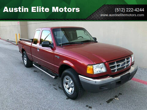 2003 Ford Ranger for sale at Austin Elite Motors in Austin TX