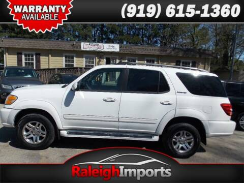 2004 Toyota Sequoia for sale at Raleigh Imports in Raleigh NC