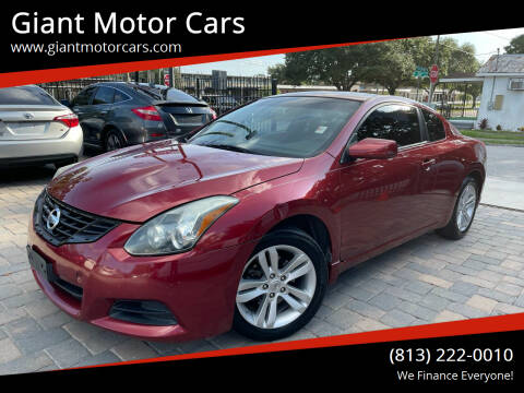 2013 Nissan Altima for sale at Giant Motor Cars in Tampa FL