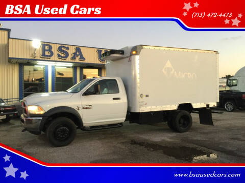 2013 RAM Ram Chassis 4500 for sale at BSA Used Cars in Pasadena TX