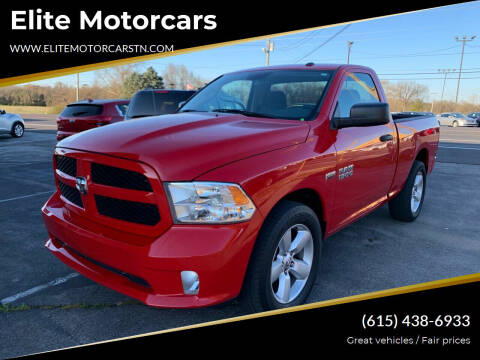 2014 RAM Ram Pickup 1500 for sale at Elite Motorcars in Smyrna TN