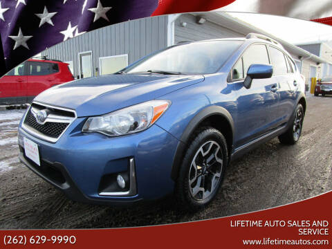 2016 Subaru Crosstrek for sale at Lifetime Auto Sales and Service in West Bend WI
