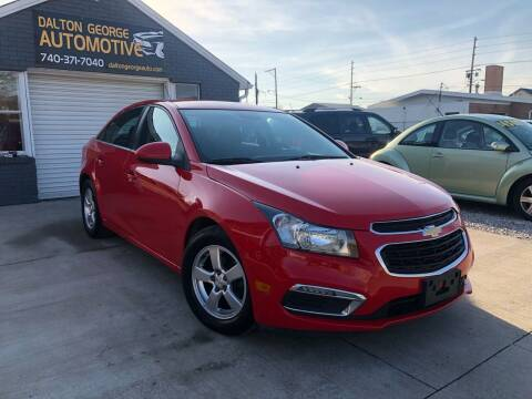 2016 Chevrolet Cruze Limited for sale at Dalton George Automotive in Marietta OH