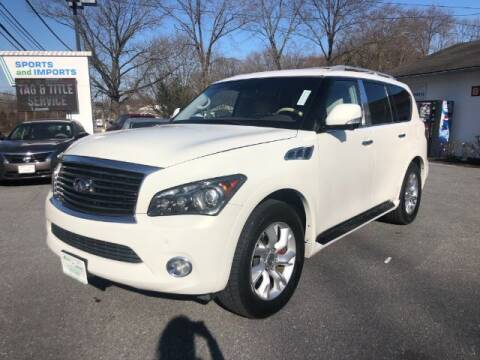 2012 Infiniti QX56 for sale at Sports & Imports in Pasadena MD
