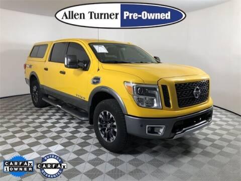 2017 Nissan Titan for sale at Allen Turner Hyundai in Pensacola FL
