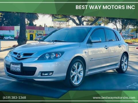 2008 Mazda MAZDA3 for sale at BEST WAY MOTORS INC in San Diego CA