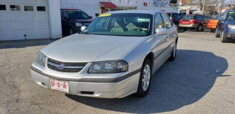 2003 Chevrolet Impala for sale at Union Street Auto in Manchester NH