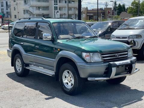 1996 Toyota Landcruiser Prado for sale at JDM Car & Motorcycle LLC in Seattle WA