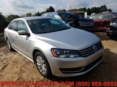 2015 Volkswagen Passat for sale at East Coast Auto Source Inc. in Bedford VA