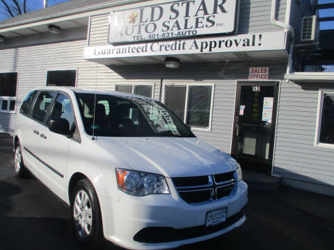 2016 Dodge Grand Caravan for sale at Gold Star Auto Sales in Johnston RI