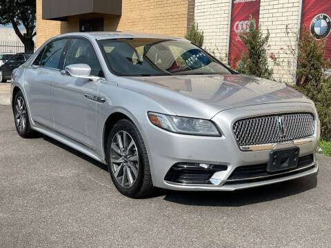 2018 Lincoln Continental for sale at Auto Imports in Houston TX