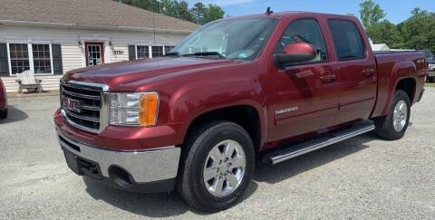 2013 GMC Sierra 1500 for sale at Premier Auto Solutions & Sales in Quinton VA