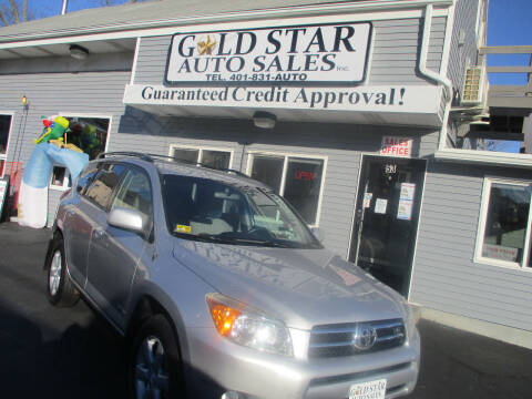 2007 Toyota RAV4 for sale at Gold Star Auto Sales in Johnston RI