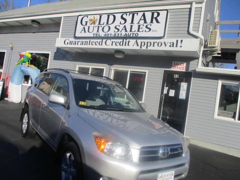 2007 Toyota RAV4 for sale at Gold Star Auto Sales in Johnston RI