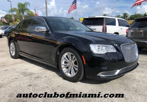 2017 Chrysler 300 for sale at AUTO CLUB OF MIAMI, INC in Miami FL