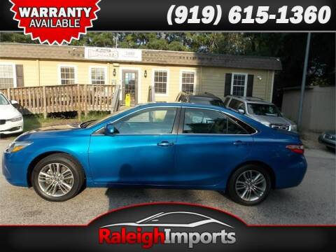 2017 Toyota Camry for sale at Raleigh Imports in Raleigh NC