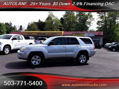 2004 Toyota 4Runner for sale at Auto Lane in Portland OR
