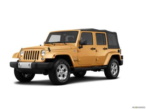 2014 Jeep Wrangler Unlimited for sale at BORGMAN OF HOLLAND LLC in Holland MI