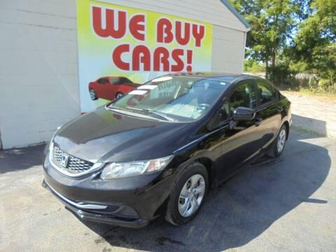 2014 Honda Civic for sale at Right Price Auto Sales in Murfreesboro TN