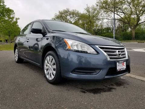 2014 Nissan Sentra for sale at GTR Auto Solutions in Newark NJ