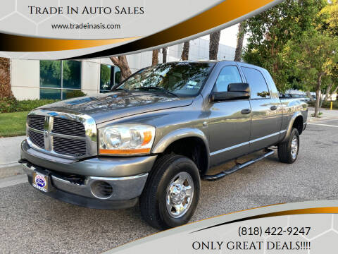 2006 Dodge Ram Pickup 2500 for sale at Trade In Auto Sales in Van Nuys CA