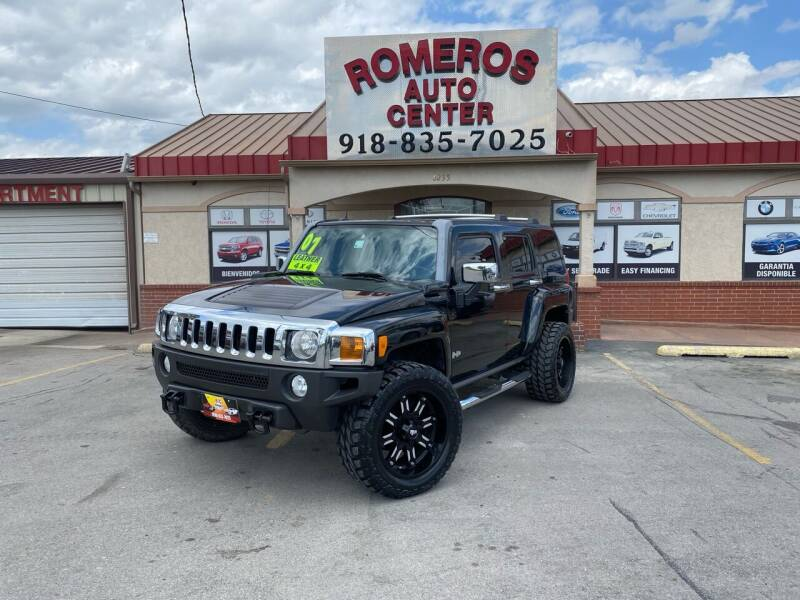 2007 HUMMER H3 for sale at Romeros Auto Center in Tulsa OK